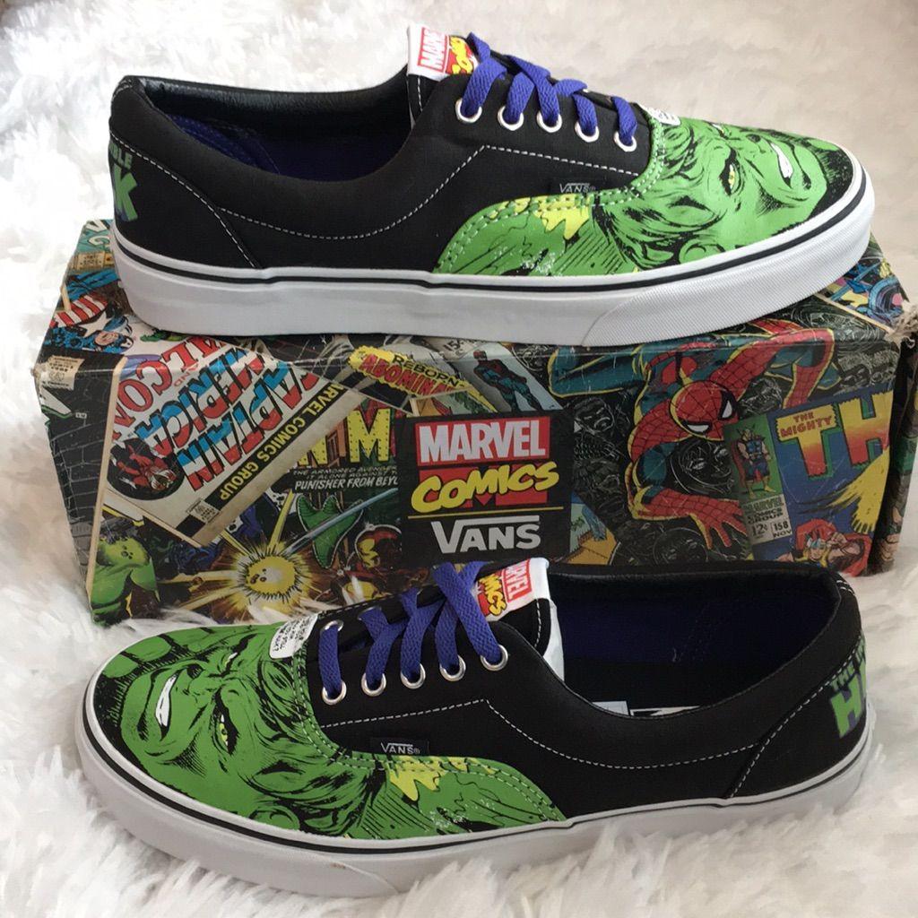 Vans x Marvel Hulk Smash Skate Shoe