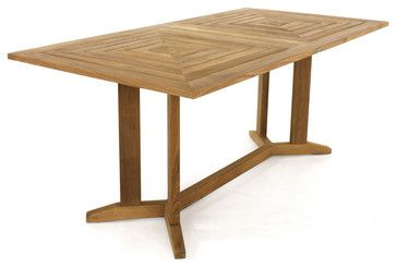 Rectangular Teak Dining Table Modern Dining Tables