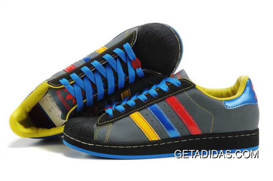 8ae35551f61 Running Shoes Mens 365 Days Return Black Blue Yellow Shoes Adidas Superstar  II Available Superior Materials TopDeals