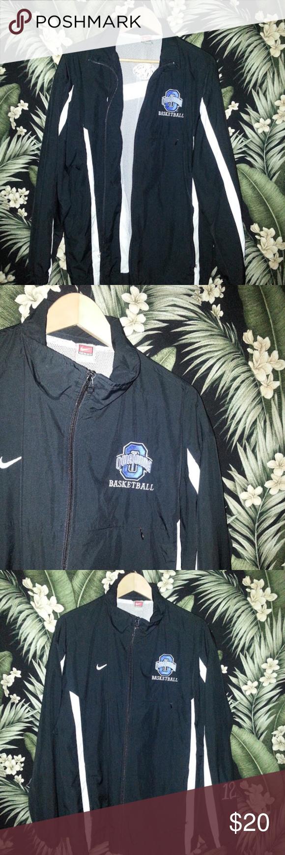 Men's Nike Retro Basketball Track Jacket Large