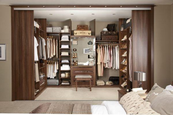 Begehbarer kleiderschrank wie sie die perfekte ordnung schaffen home schrank begehbarer - Kleiderschranksystem offen ...