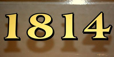 The House Number Lab Classic American Transom Address Numbers Traditional House Numbers House Numbers Vinyl House