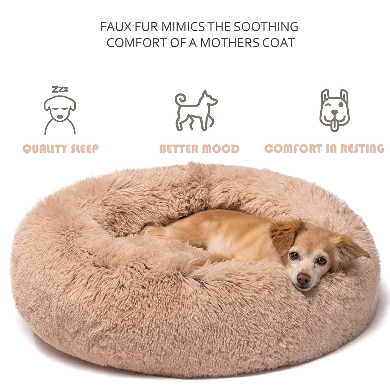Super Comfy Pet Bed 50 OFF NEW YEAR DEAL in 2020 Faux