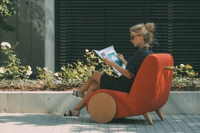 Elegant Dieser Designer Relaxsessel Heißt Rapide Und Wurde Vom Designstudio  Onemanduo Für Den Estnischen Möbelhersteller Borg Entworfen. Der Entwurf  Von Martin Saar