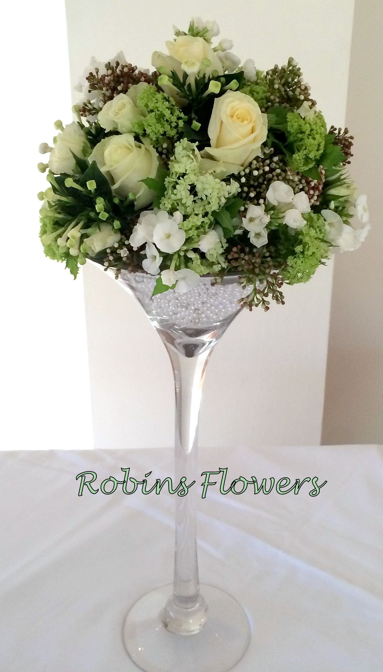 Martini Vase for Weddings | Decorations | Pinterest | Weddings ...