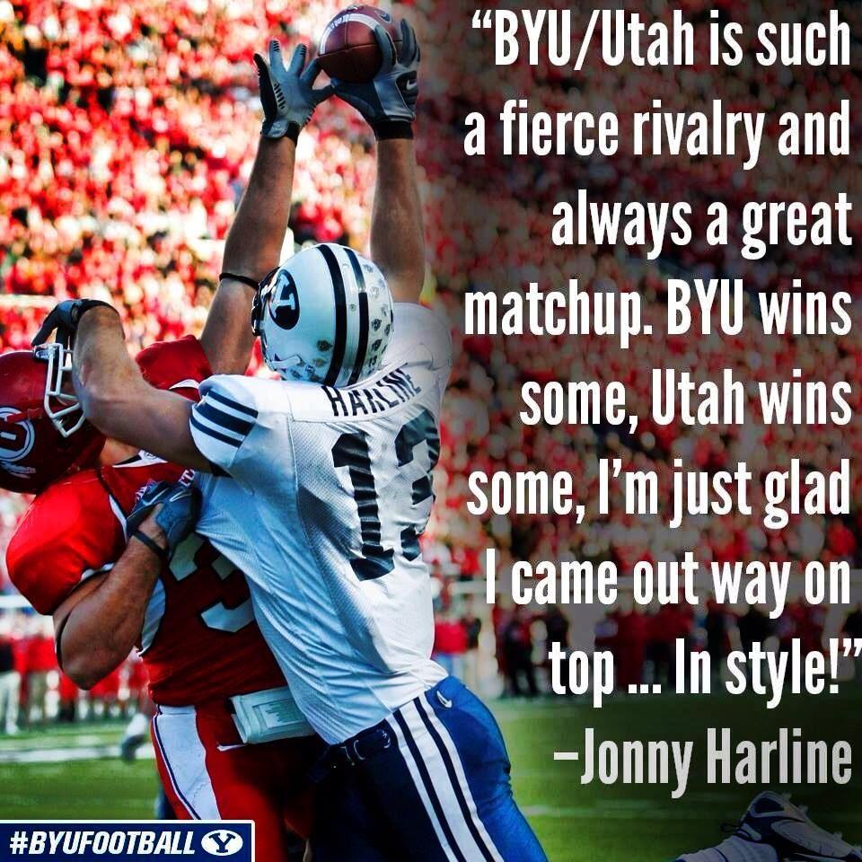 Harline Byu Football Byu Utah Byu