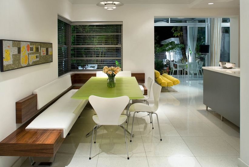 25 Best Industrial Kitchen Ideas To Get Inspired   Banquette ...