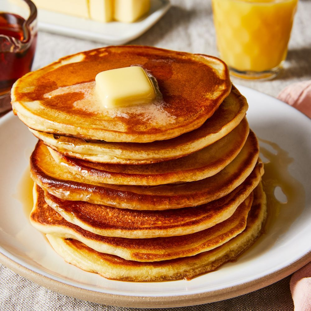 Better Buttermilk Pancakes With One Genius Ingredient Swap Pancake Recipe Buttermilk Brunch Recipes Buttermilk Pancakes