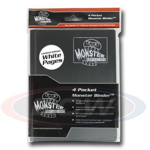 CCG Albums And Pages 183465: Monster Gaming Card Binder 4