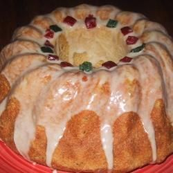 Sweet Anise Bread with Egg Nog