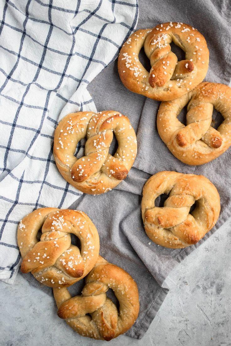 Soft Bröd Rezept : sourdough soft pretzels rezept herzhaftes geb ck herzhafte waffeln und herzhafte snacks ~ Watch28wear.com Haus und Dekorationen