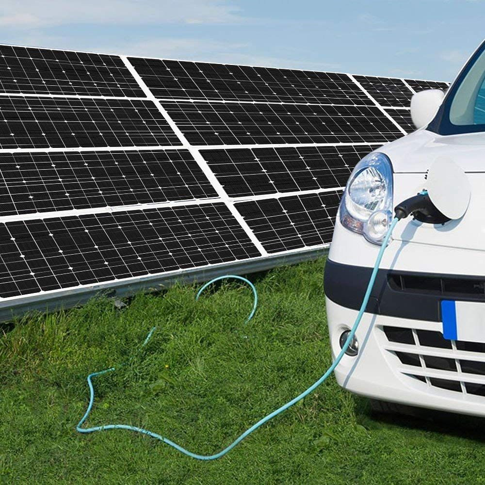 ALLPOWERS 18V 12V 100W Solar Panel Charger Monocrystalline