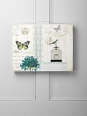 Bird and butterfly wall plaque  £12.50