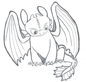 Httyd Toothless The Night Fury By Alexbee1236 Deviantart Com On Deviantart Dragon Coloring Page How Train Your Dragon Dragon Drawing