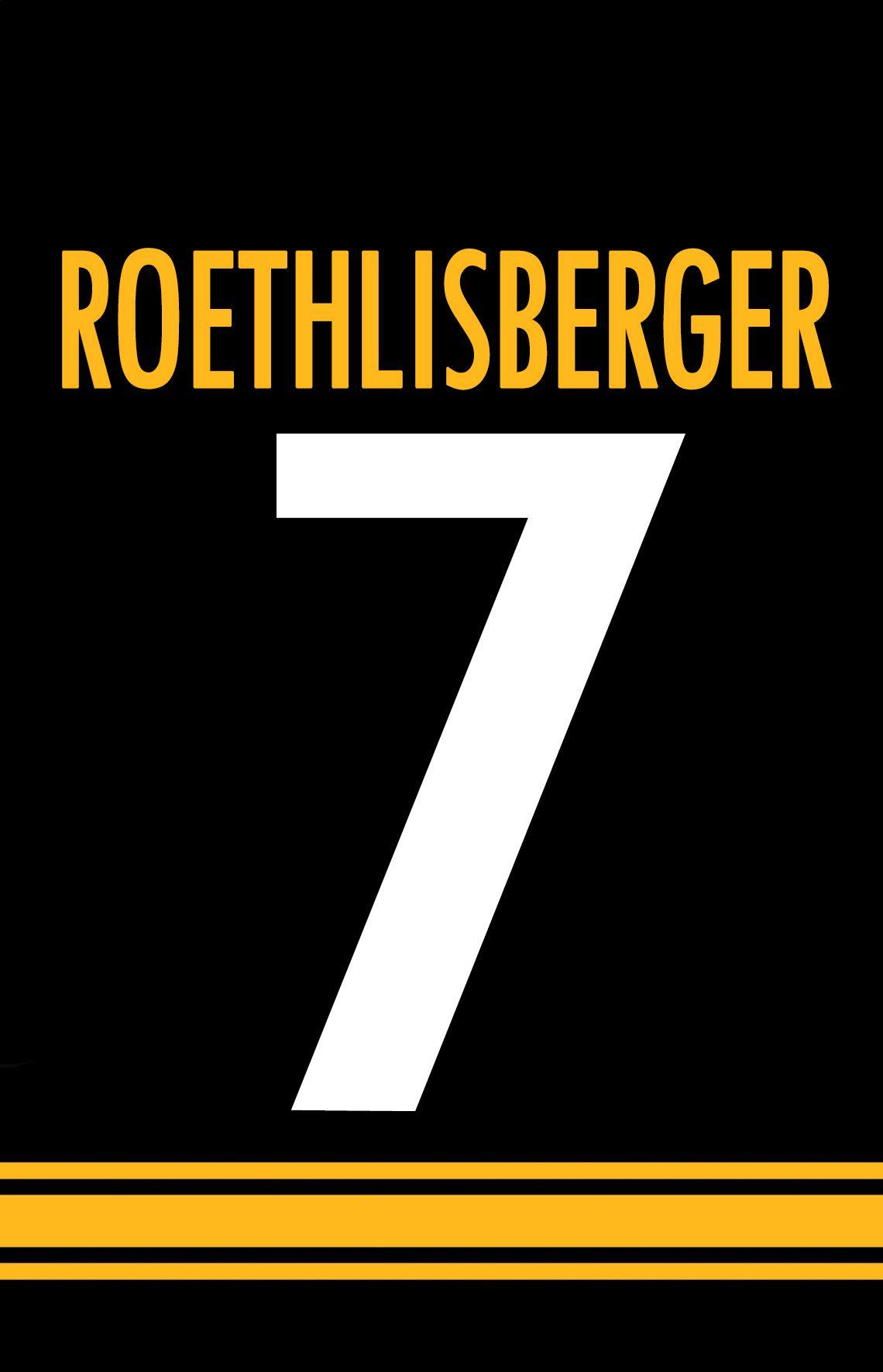 c172331d9d6 Big Ben Roethlisberger 7 Pittsburgh Steelers Nation Iphone Wallpaper ...