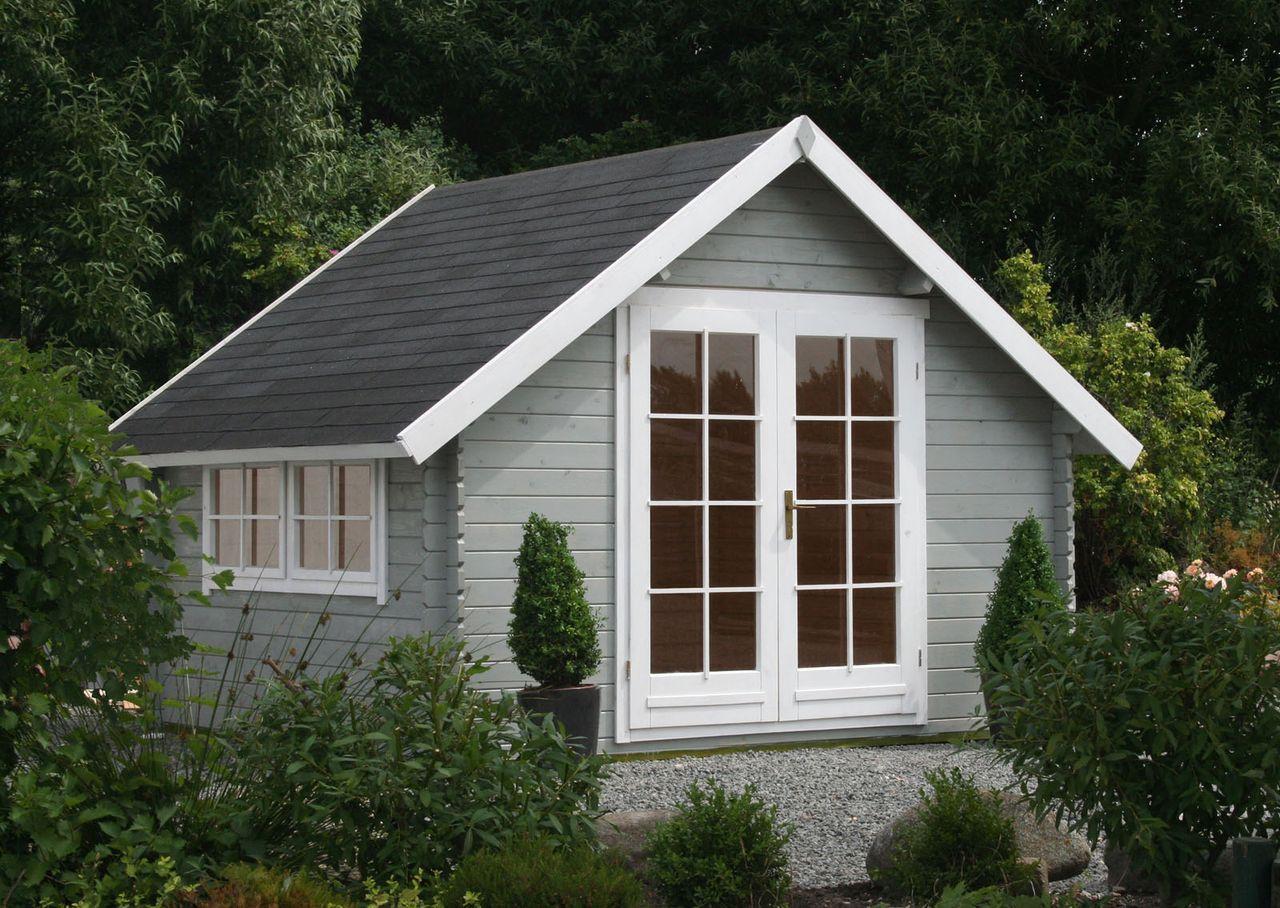 Gartenhaus schwedenstil grau  Gartenhaus Modell Ronja-28 | Gartenhäuser, Modell und Gartenhaus gmbh