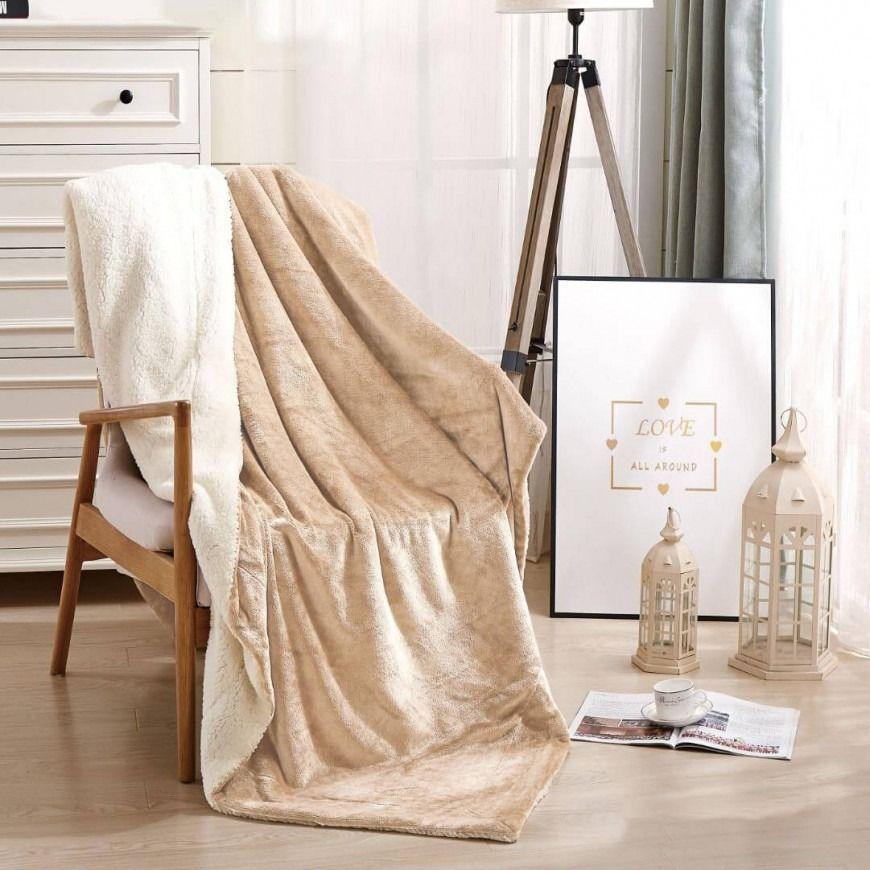 بطانية خفيفة مخمل و فرو مزدوج Throw Blanket Blanket Blankets Throws