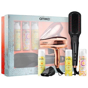 Amika Polished Perfection Straightening Brush 2.0 Smooth