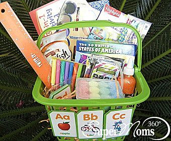 School is cool easter basket easter baskets easter and holidays easter party negle Images
