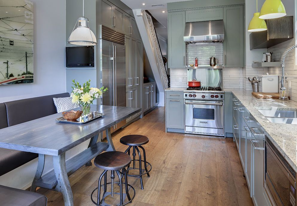 Contemporary Renovated Kitchen In Old Victorian House Idesignarch Interior Design Architecture Interior Decorating Emagazine Kitchen Renovation Victorian Kitchen Kitchen Remodel