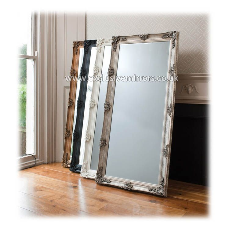 Full length abbigale mirror with gold frame 167 x 81 cm