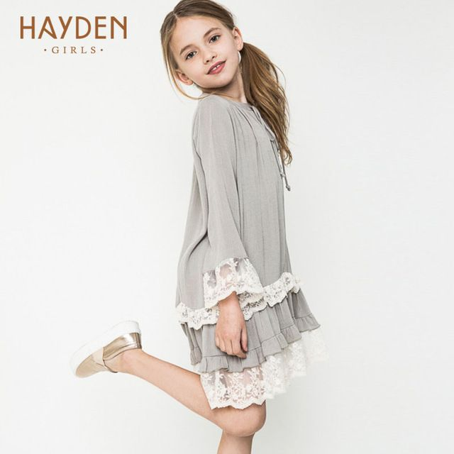 6f9767aeb Special price HAYDEN Bohemia teenage girls dress summer 7 9 11 years  costumes spring children clothing kids clothes girls party frocks designs  just only ...