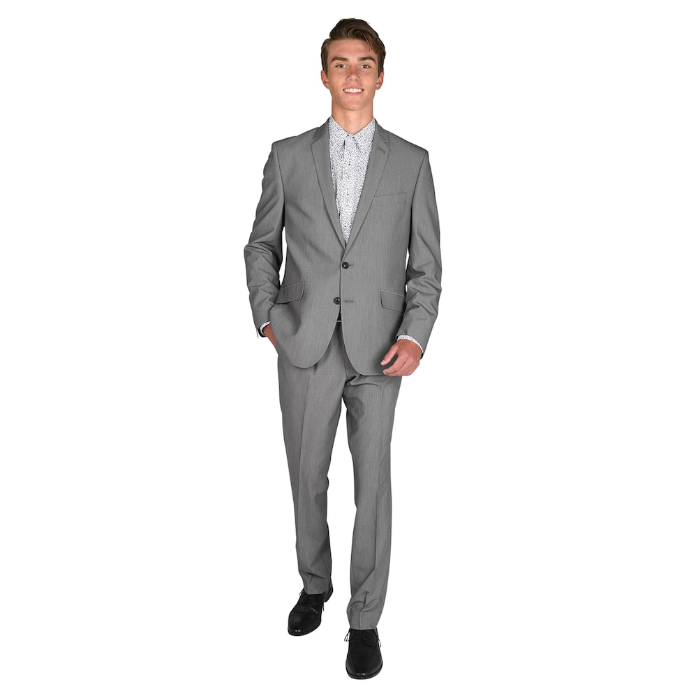 Billy London Mens Slim Fit Suit Separate Blazer, Pant, and Vest