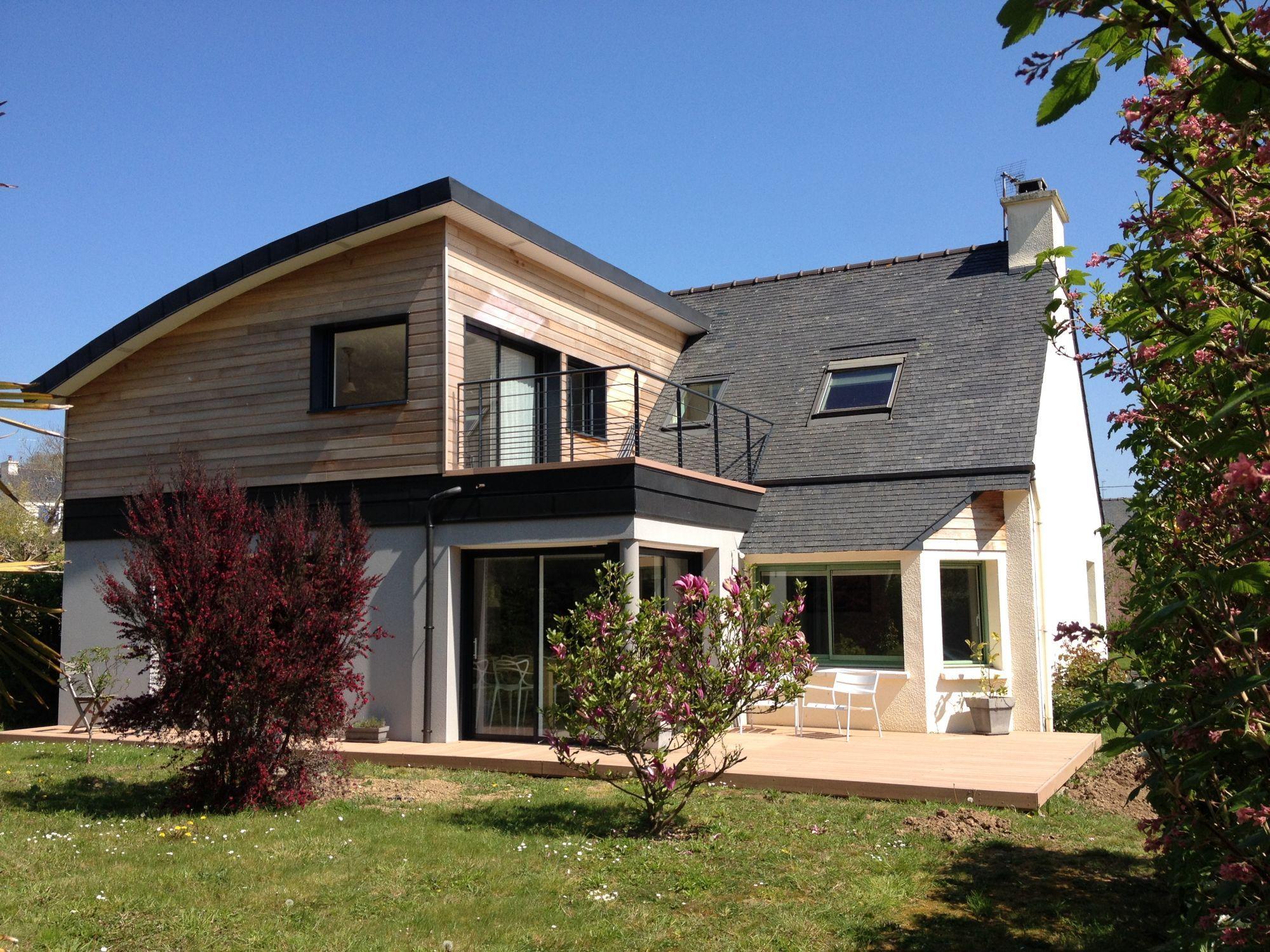 Extension de maison agrandissement de maison sur le for Agrandissement maison 59