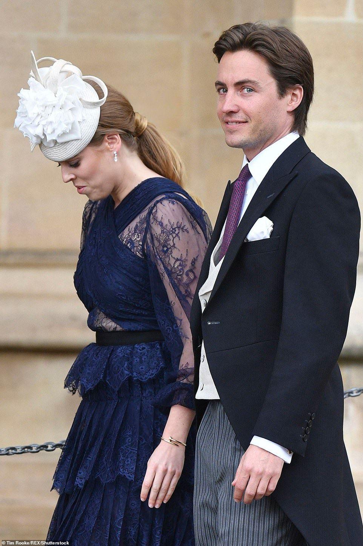 Princess Beatrice has engaged to tycoon Edoardo