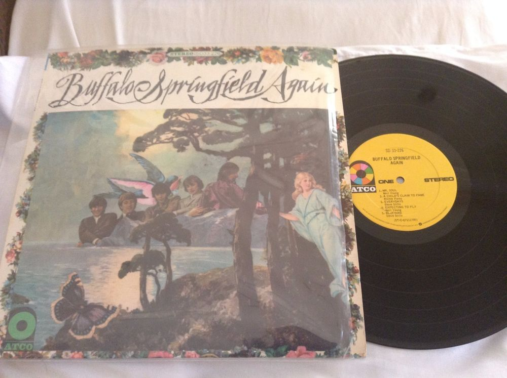 Buffalo Springfield Again LP Vinyl SD 33-226 ROCK #Rock