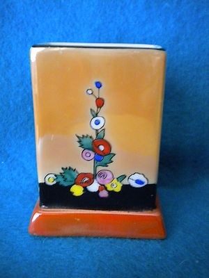 RARE Art Deco Noritake Lustreware Floral Matchbox Holder | eBay