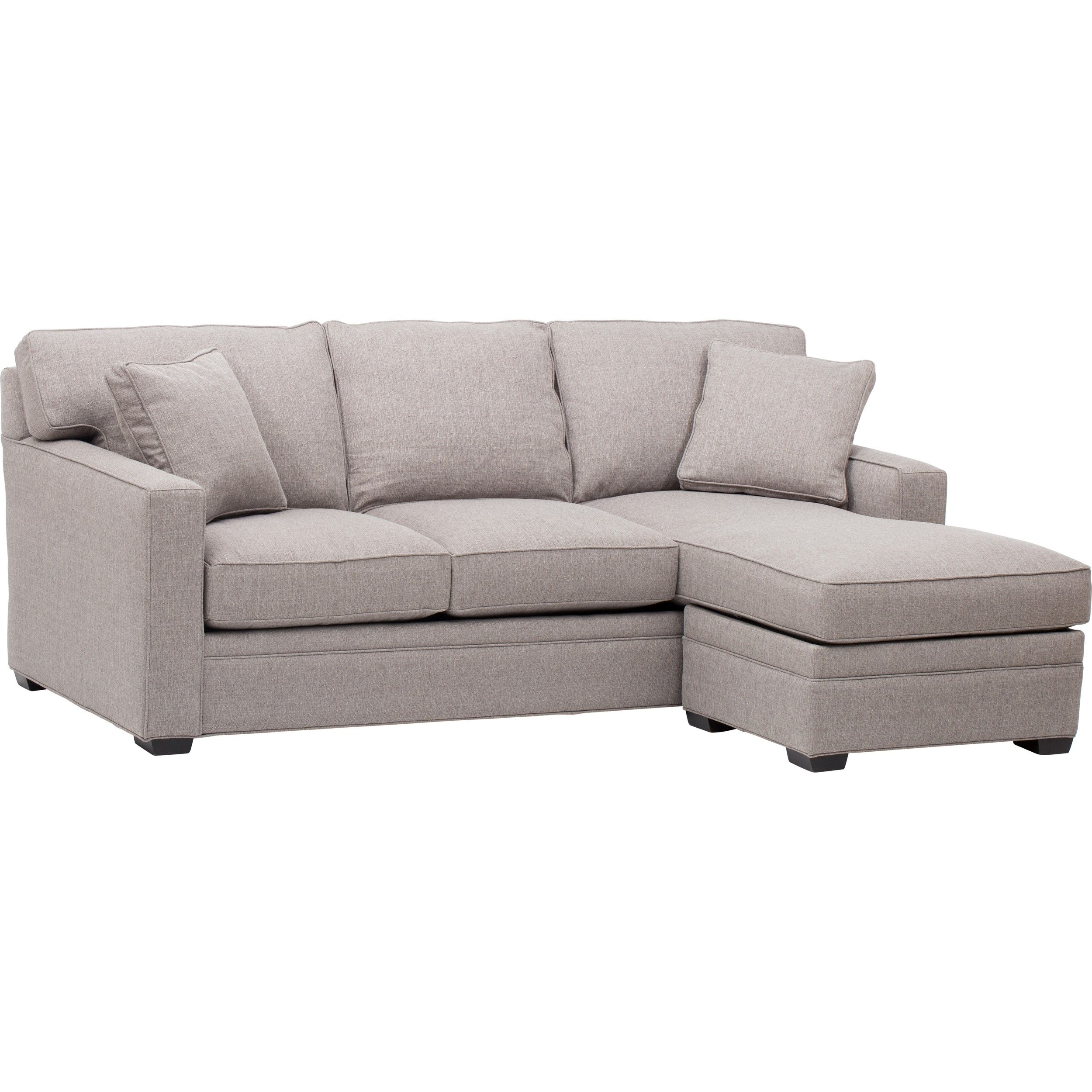 Savvy Lincoln Chaise Sectional Sleeper Sofa Queen at Sleepers In
