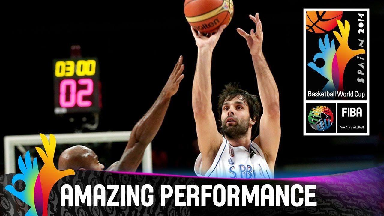 Milos Teodosic Amazing Performance 2014 Fiba World Cup Basketball World Cup Check Out This Brilliant Performance O World Cup Fiba Basketball Performance
