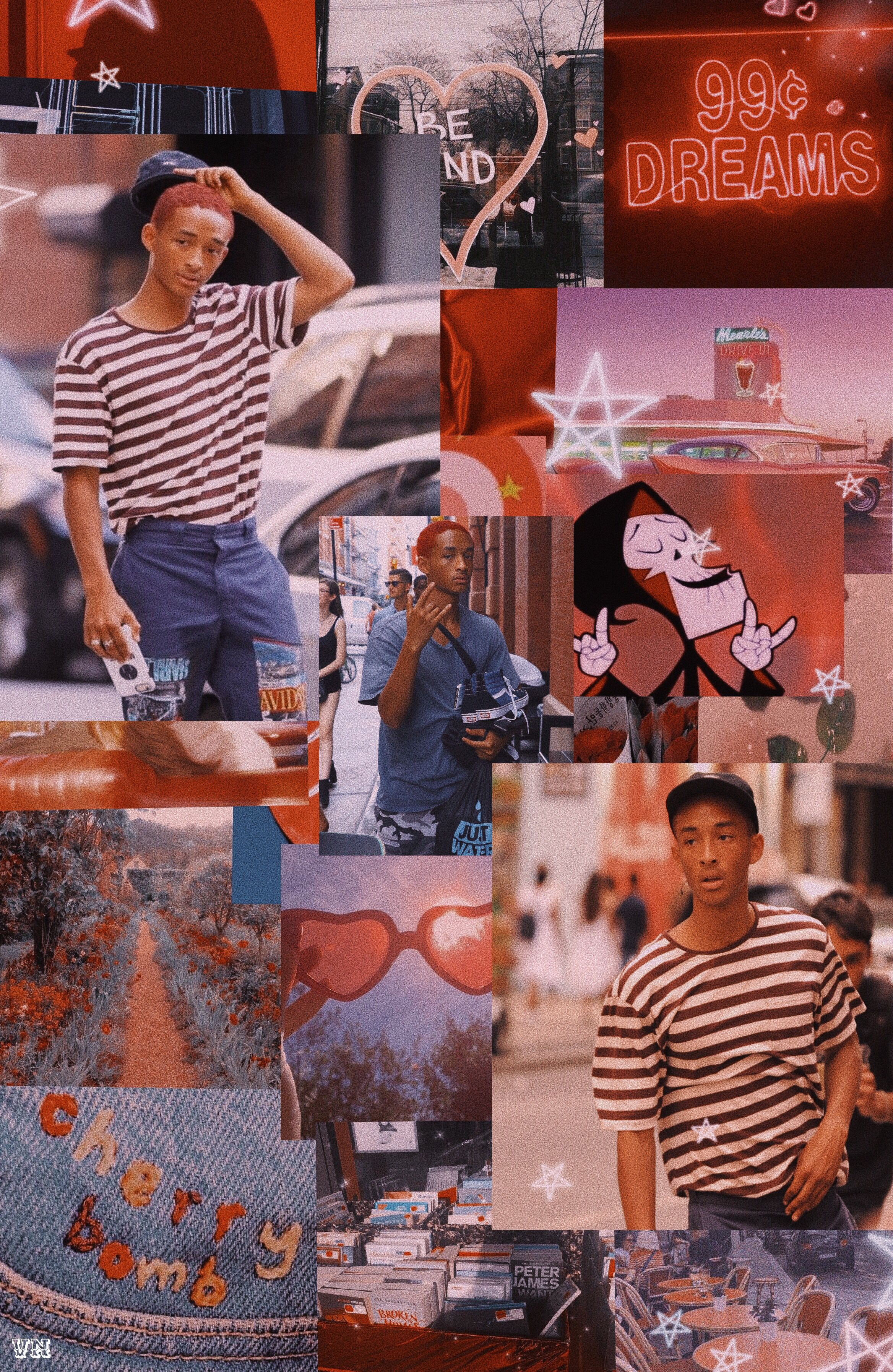 Pin By Vee Nguyen On Iphone Wallpapers Jaden Smith Willow Smith Red Table