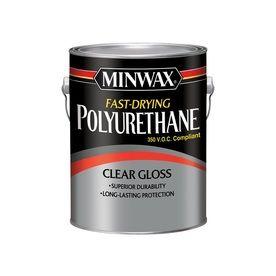 Minwax Fast Drying Polyurethane Gloss Oil Based Polyurethane Actual Net Contents 128 Fl Oz 319000000 Minwax Sanding Wood Polyurethane Floors