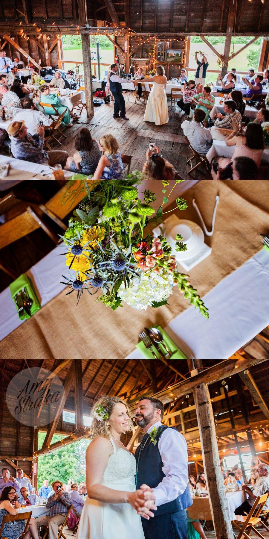 whimsical rustic barn wedding // tryon farm in michigan ...