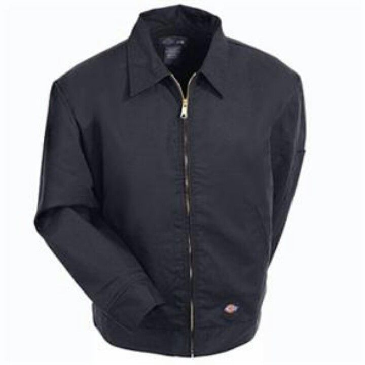 Dickies Jacket - Black & Insulated, My old one has a busted zipper. :