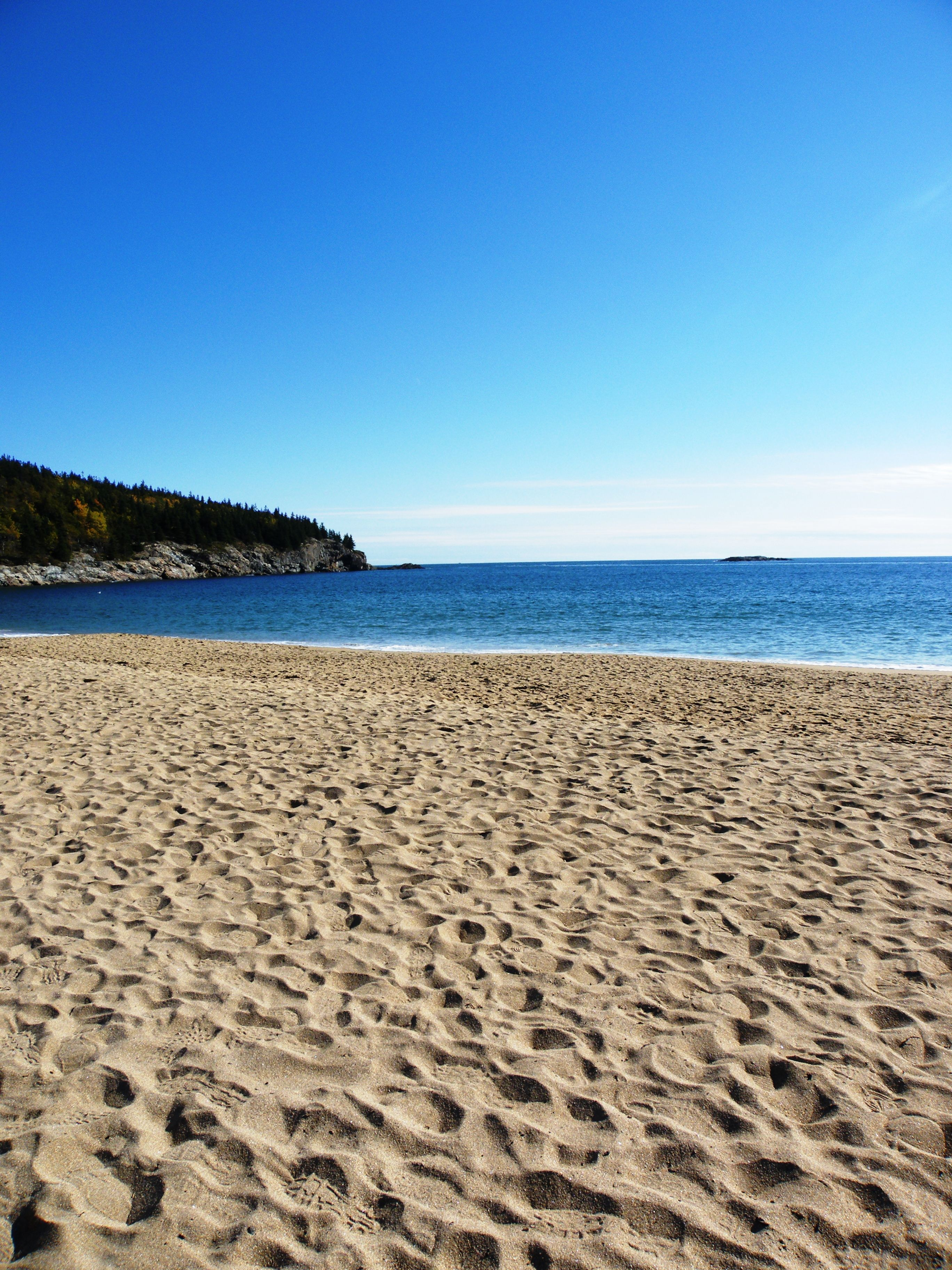 Acadia National Park Sandy Beach Bar Harbor Me It Was Beyond Beautiful There