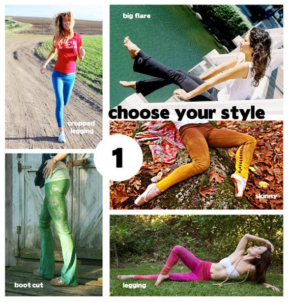 à la carte yoga pants  you are the designer by purushapeople, $108.00
