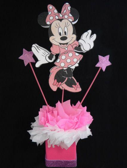 Moldes de centro de mesa de Minnie bebé | mimi | Pinterest