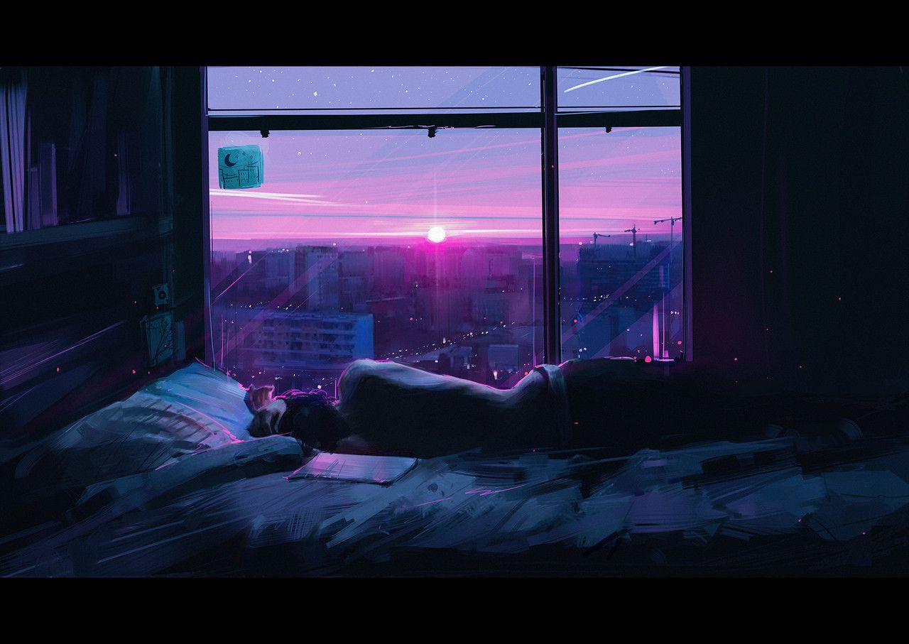 Yr Gal The Morning Star Chillxpanic Wonderful Art By Alena Aenami On Aesthetic Wallpapers Aesthetic Desktop Wallpaper Anime Backgrounds Wallpapers