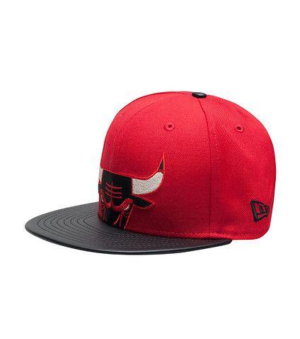 6d383f18140 NEW ERA MENS CHICAGO BULLS SNAPBACK CAP Red
