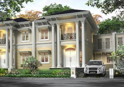 Model Rumah Mewah Klasik Lagi Lagi Model Rumah Mewah Klasik Milik Group Lippo Ini Menjadi Banyak Perhatian Baik Dari Kalang Rumah Rumah Mewah Rumah Minimalis