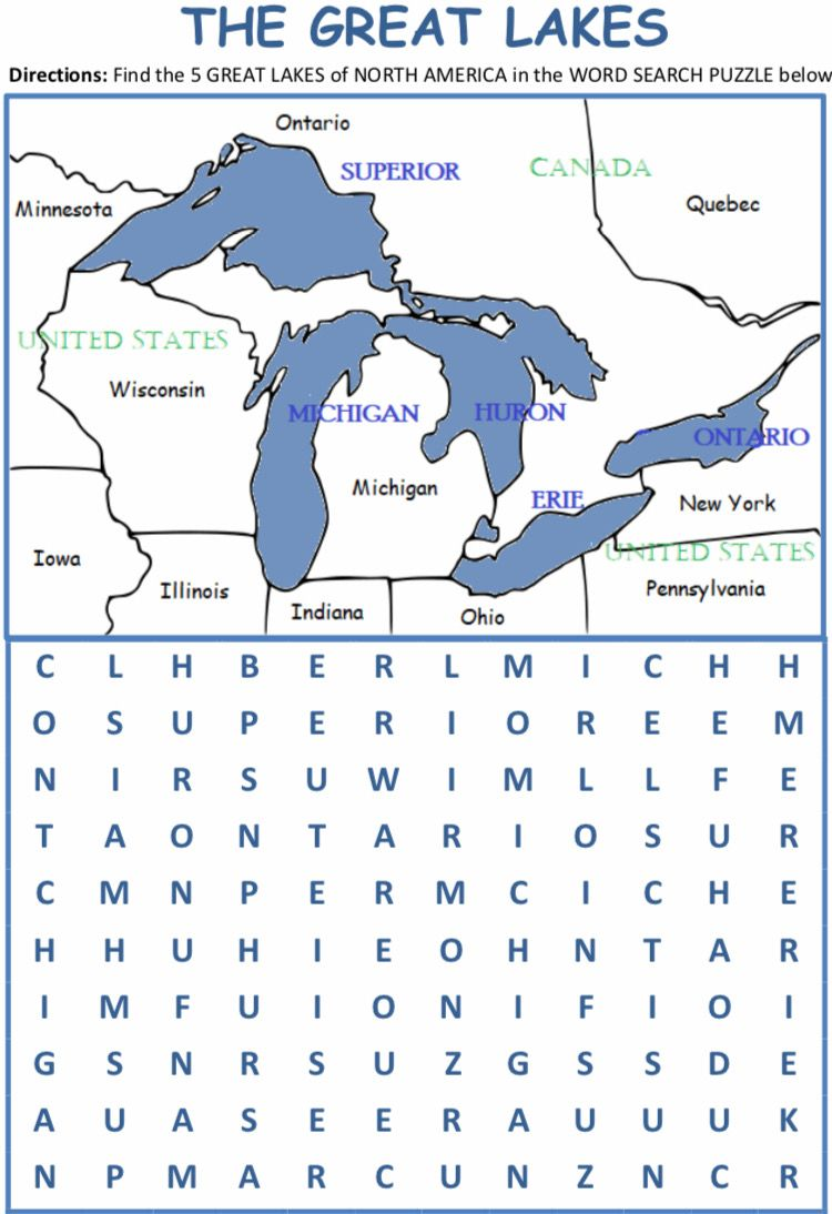 Blank Simple Map of Great Lakes - Maphill
