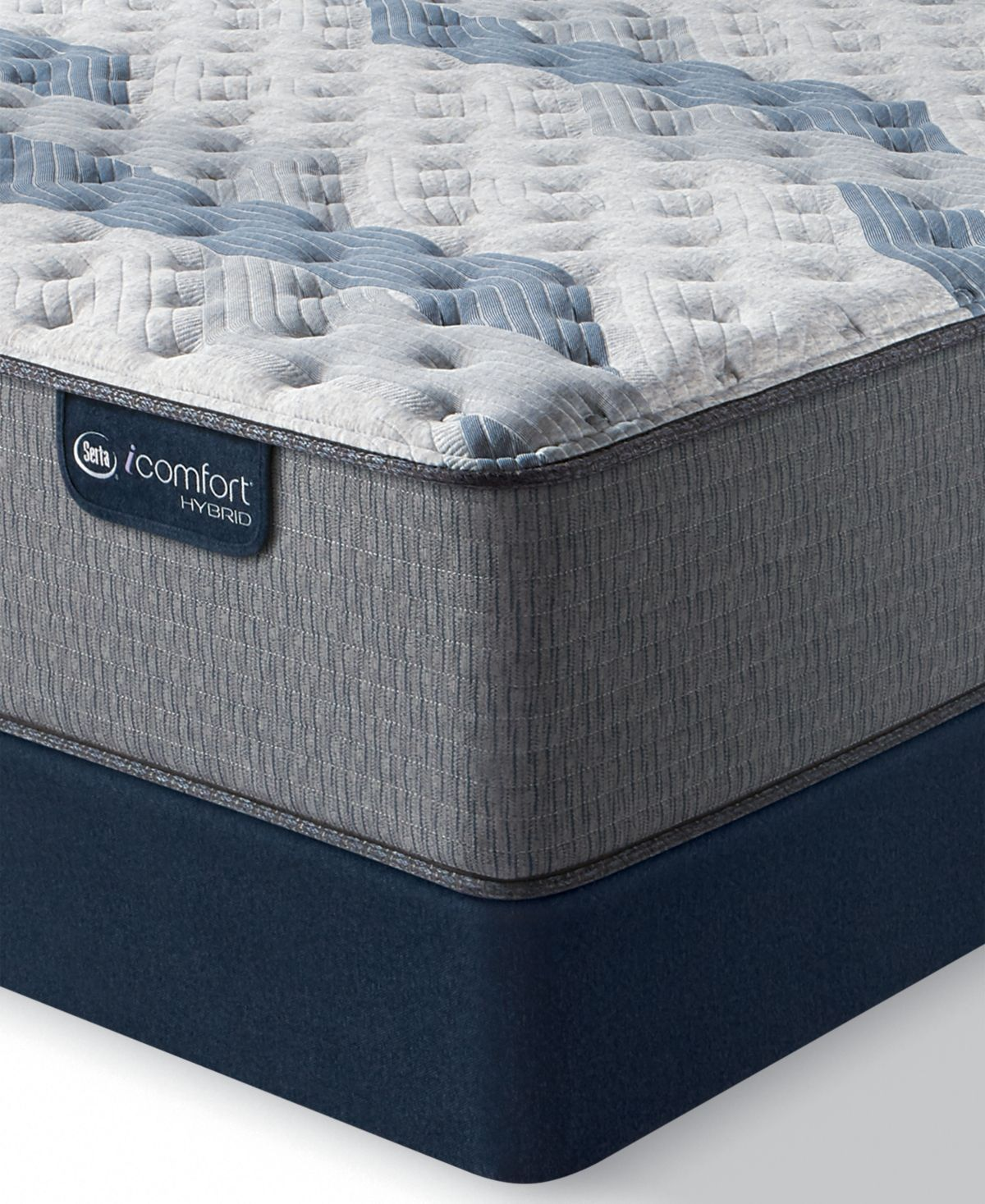 Serta Icomfort By Blue Fusion 500 14 Hybrid Extra Firm Mattress