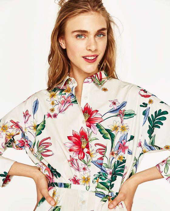 Zdjecie 7 Koszulowa Sukienka Z Zara Oberhemden Neues Kleid Modestil