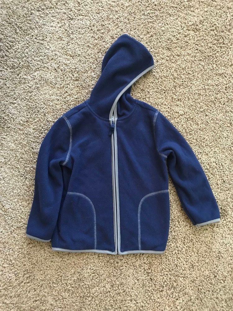 3a6d41b1ea5a Boys Kids Toddler Old Navy Fleece Hooded Jacket Size 5T  fashion ...