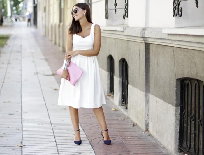 Vestido blanco para un evento