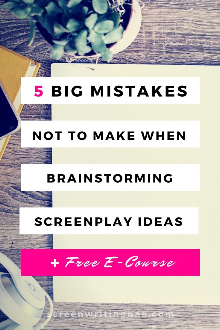 do eyes glaze over when you pitch your screenplay idea? do you keep