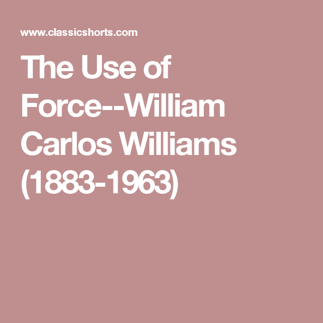 the use of force williams